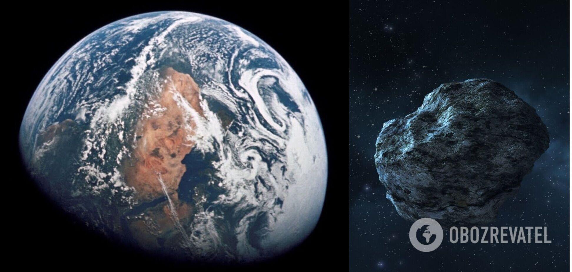 К планете летит большой астероид, который будет виден с Земли