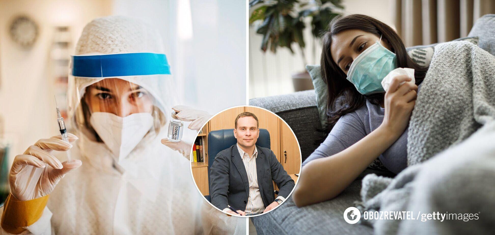Лікар пояснив, чи треба вакцинуватися тим, хто перехворів на COVID-19
