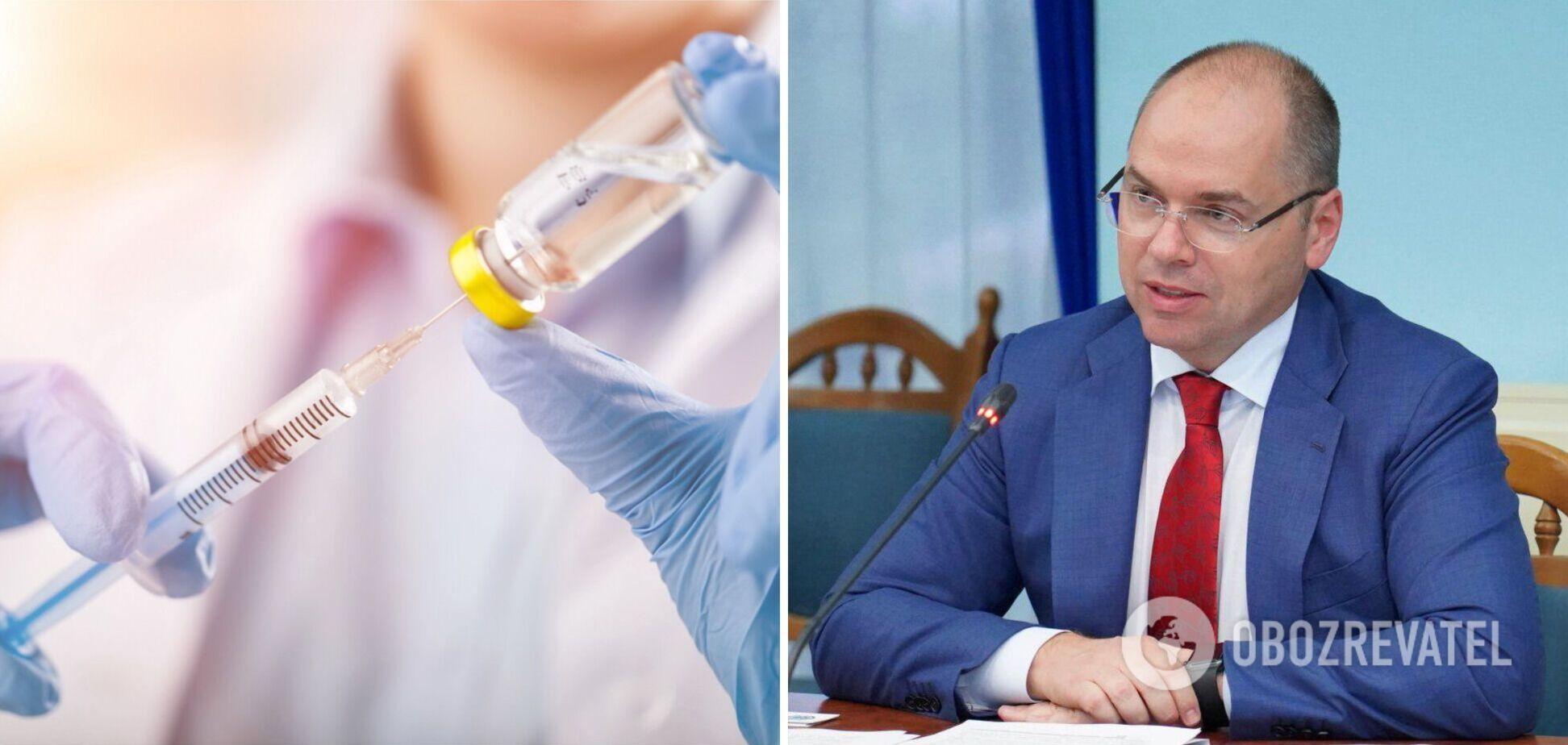 Степанов розповів про побічні ефекти під час вакцинації