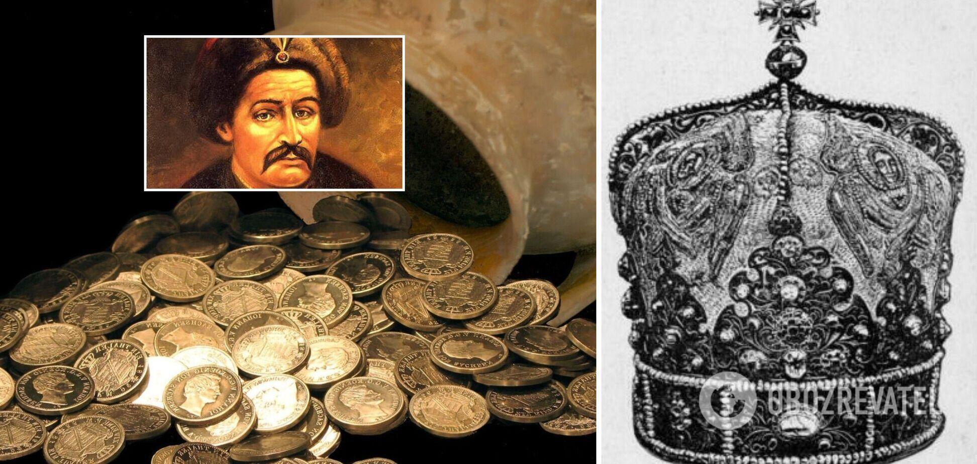 Названы семь самых легендарных ненайденных сокровищ Украины