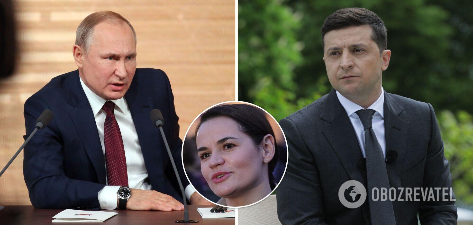 Тихановська захотіла в союзники і Україну, і Росію