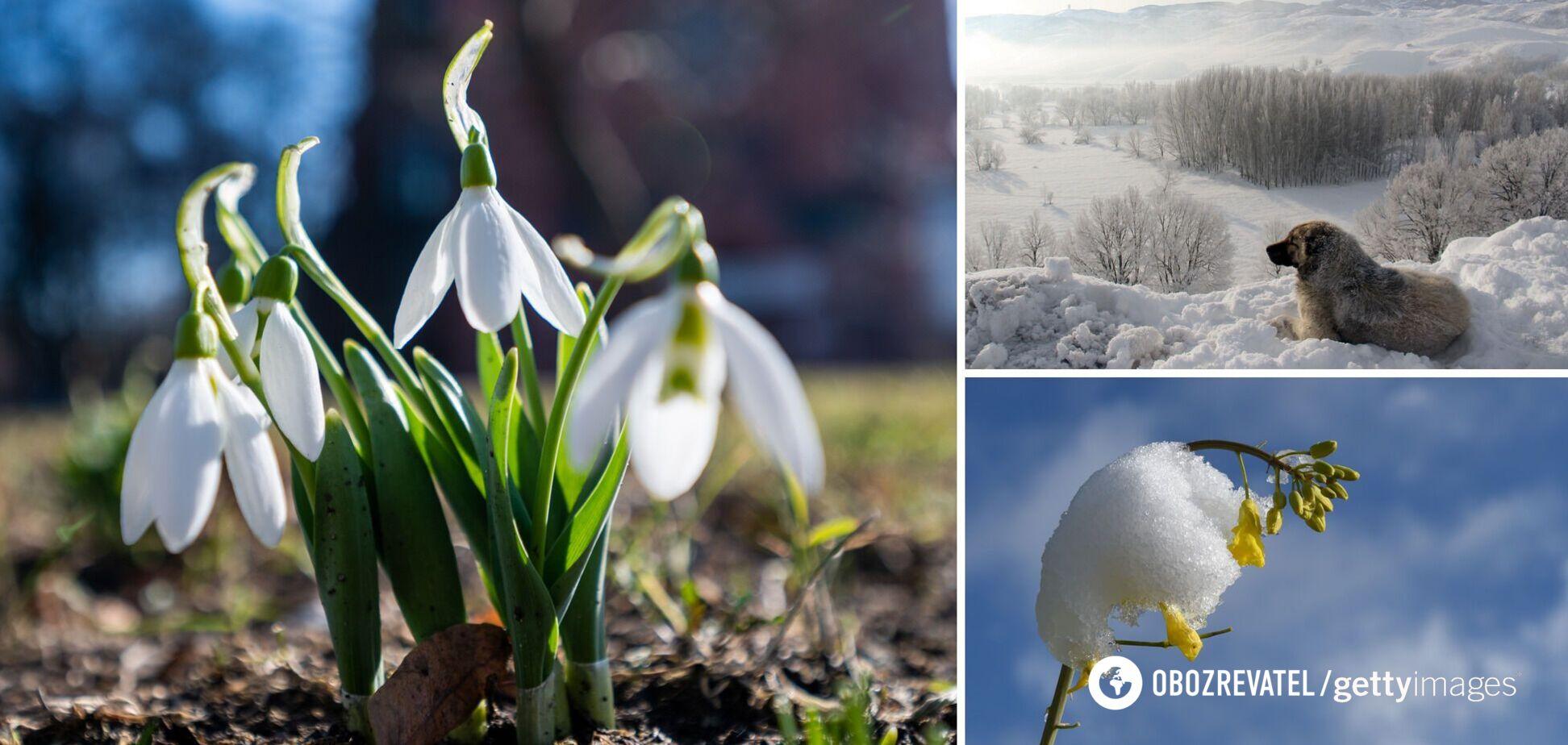 Весна отменяется, идет похолодание: синоптик уточнил прогноз погоды в Украине на начало марта
