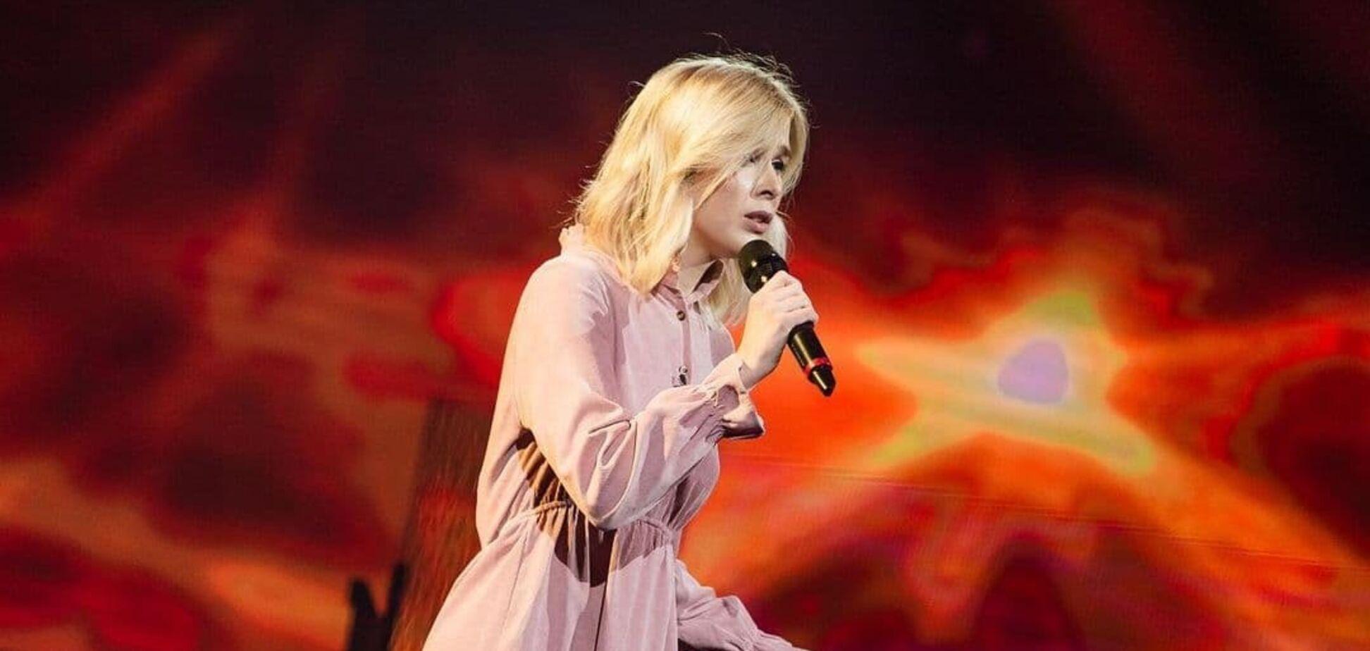Анна Гадомич заспівала на 'Голосі країни'
