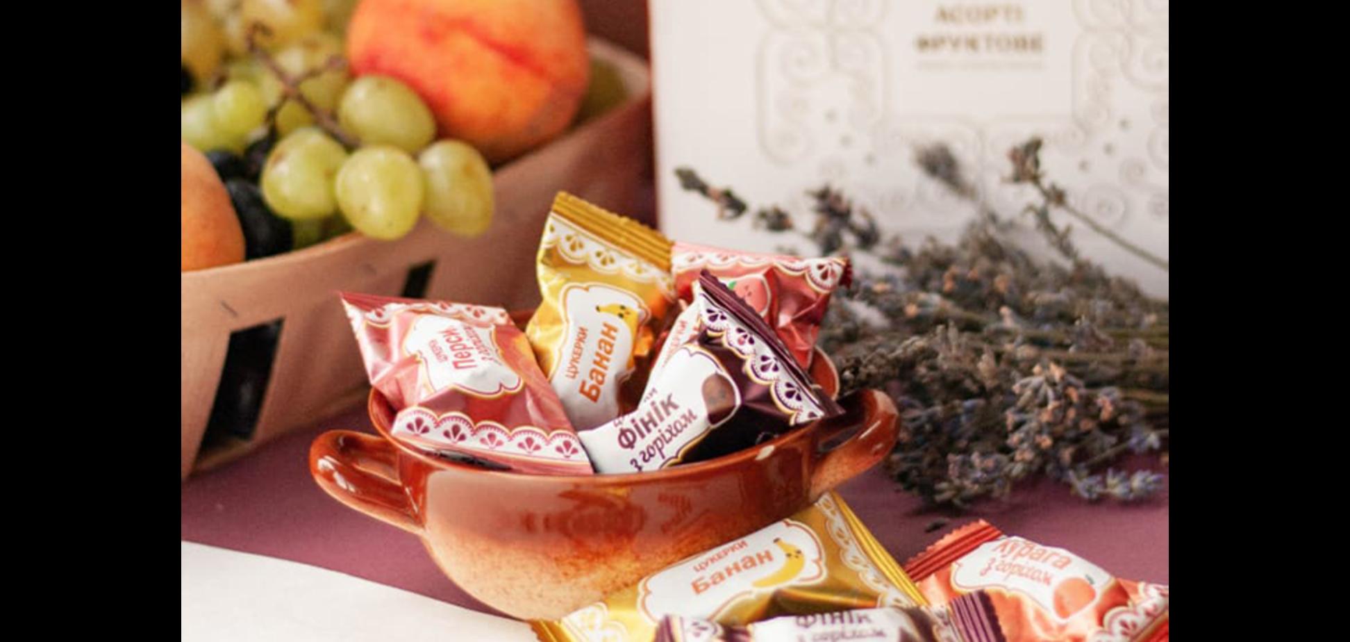 'Пригощайся' предлагает более четырех десятков видов конфет