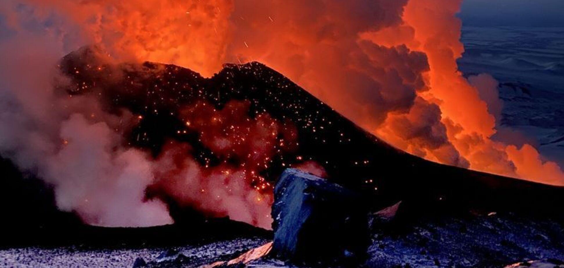 На Камчатці прокинувся вулкан Ключевська сопка