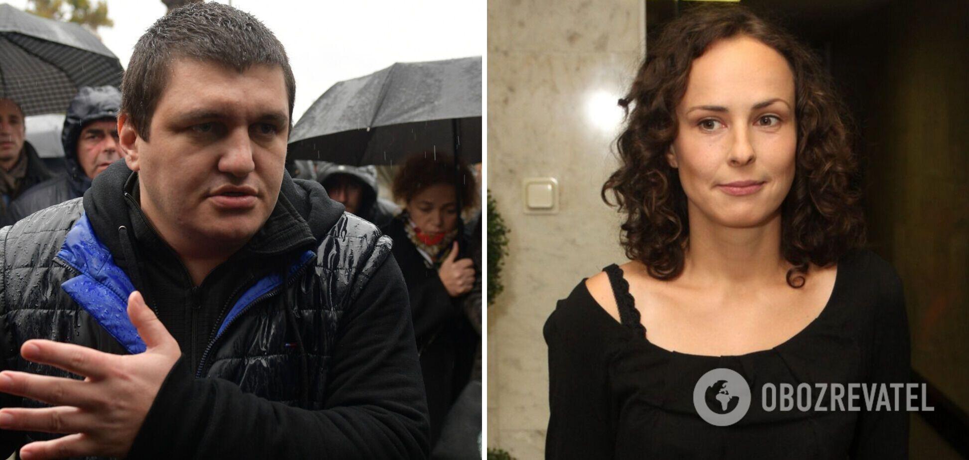 Скандальна Чичеріна прилетіла в Абхазію підтримати екскомандира батальйону 'ДНР'