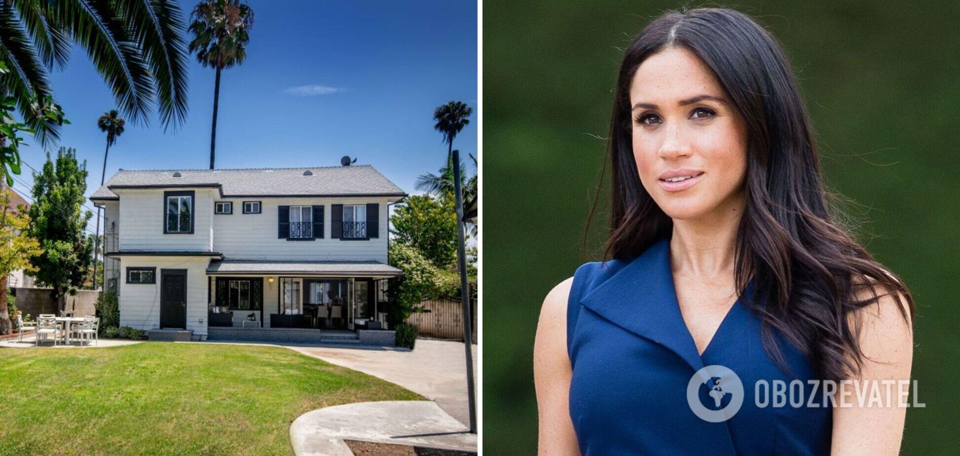 Будинок Меган Маркл у США виставили на продаж: у мережі показали фото