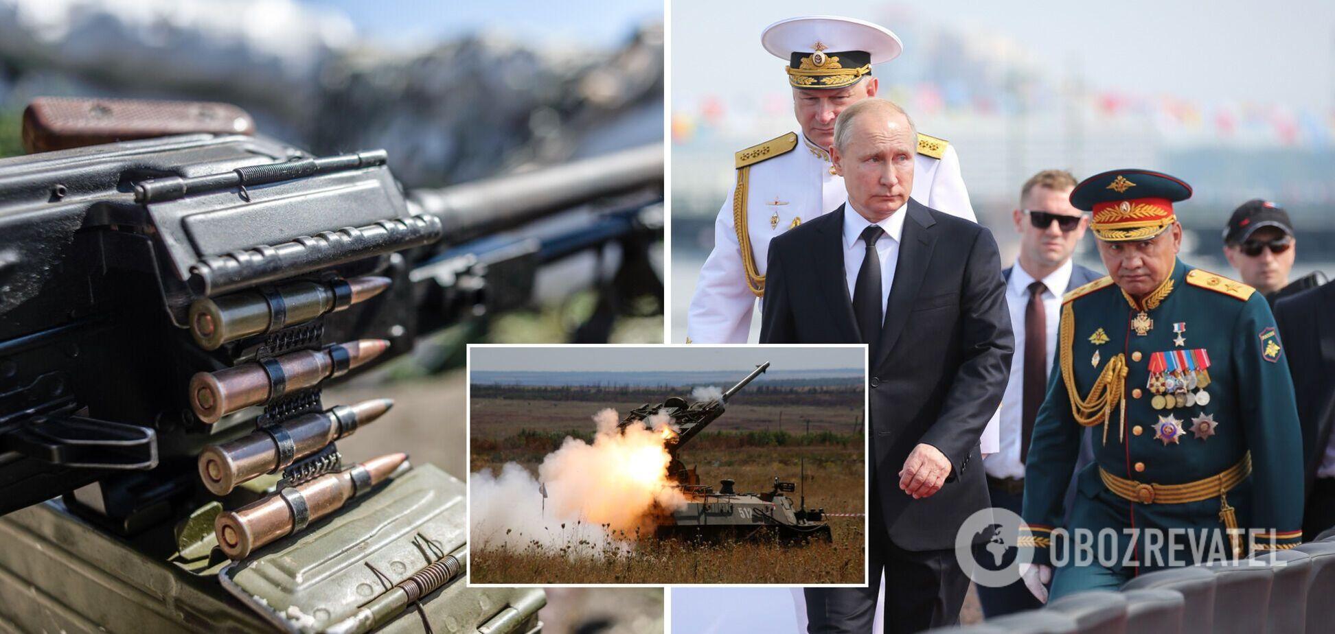 Гримчак: Путін готовий під виглядом миротворців ввести війська на Донбас