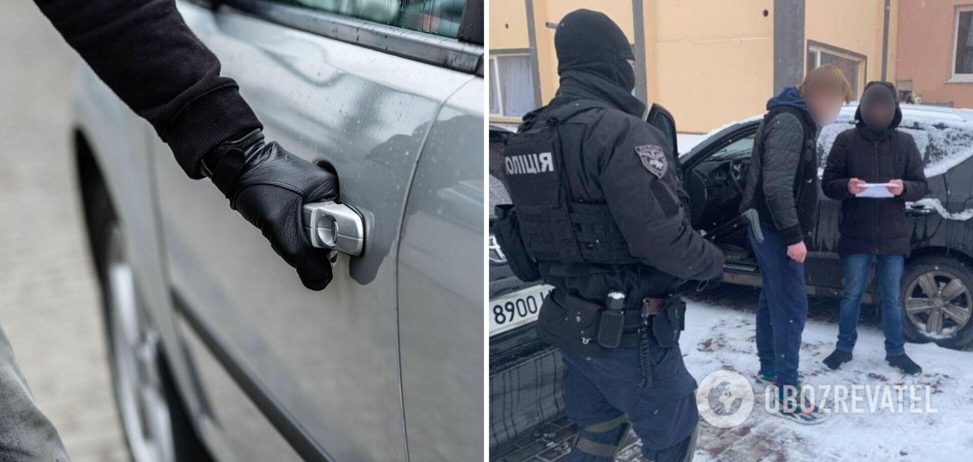 На Харьковщине поймали банду автоворов. Фото