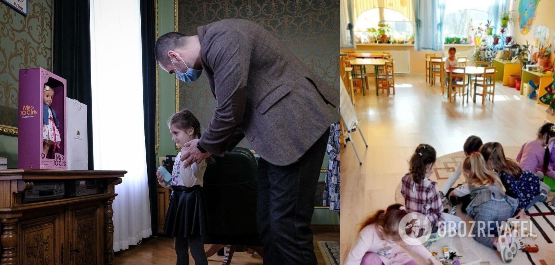 В детсаду Черновцов девочку оставили без подарка на 8 Марта: ее поздравил Зеленский. Фото
