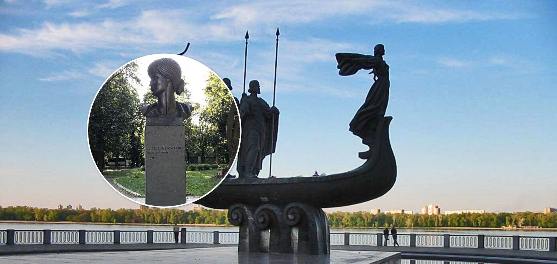 Княгині, герої воєн, письменниці і актриси. Жіночі пам'ятники Києва. Фото