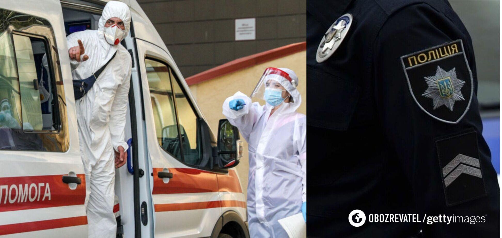 На Житомирщине судья с симптомами COVID-19 набросилась на врача: ЧП расследует ГБР