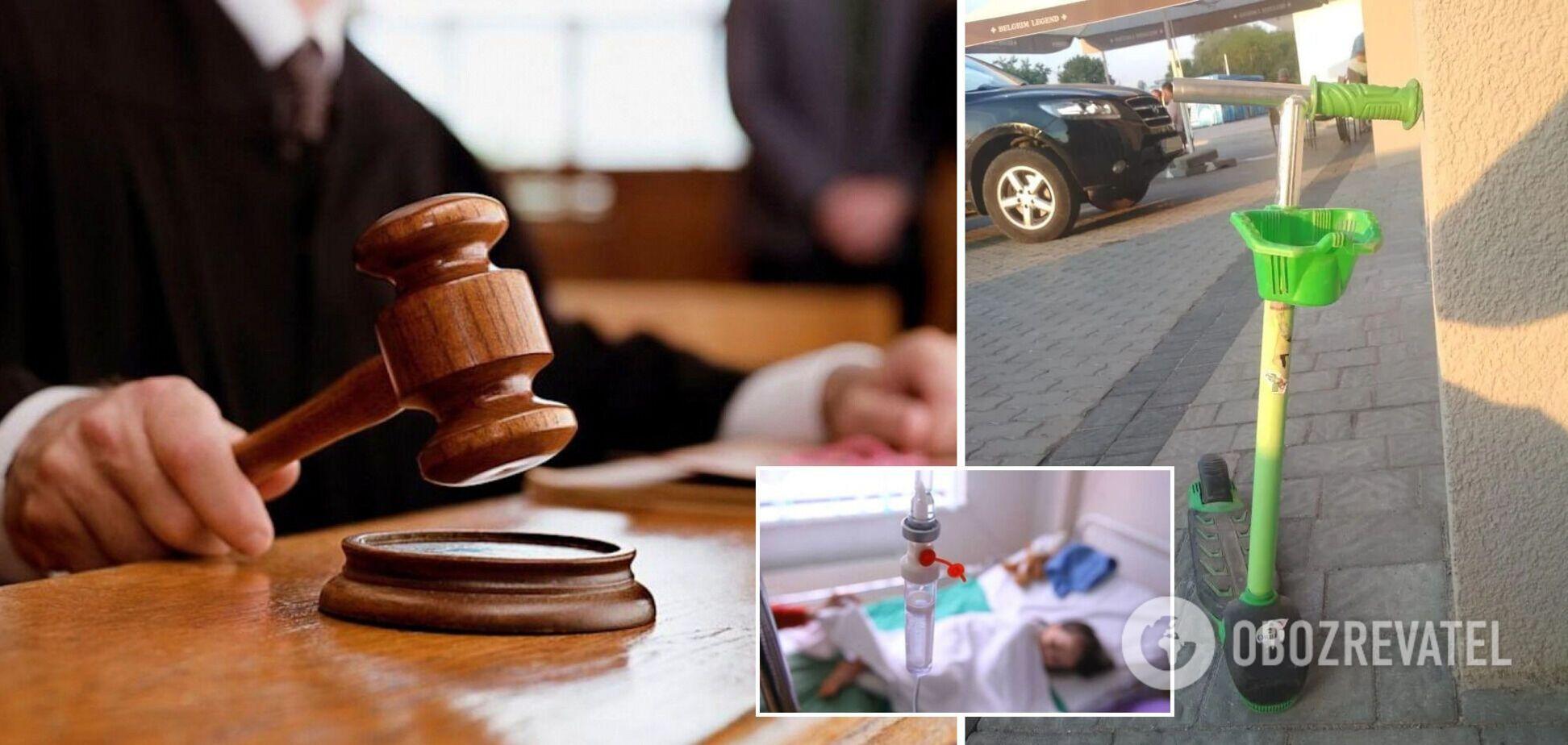 На Львівщині суд звільнив від покарання водія, який тричі переїхав дитину