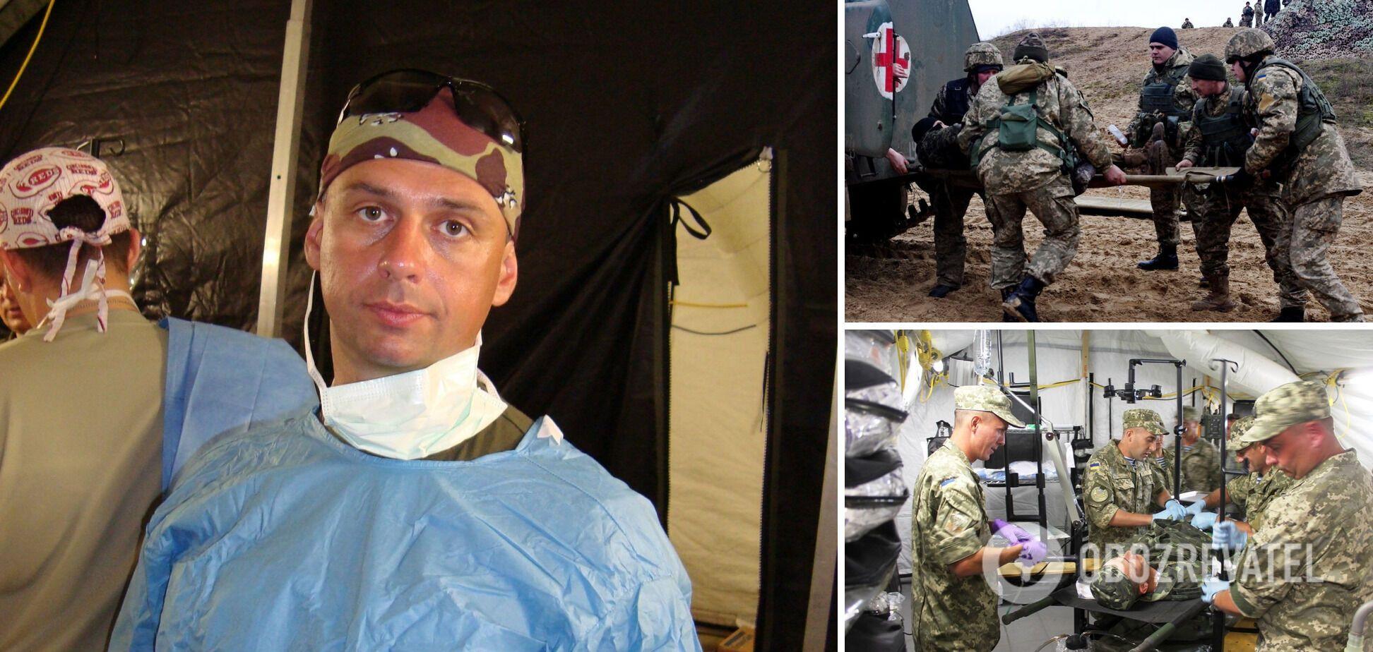 Главный хирург ВСУ: наши военные погибают на поле боя. Мы бы спасали всех, но мы не боги