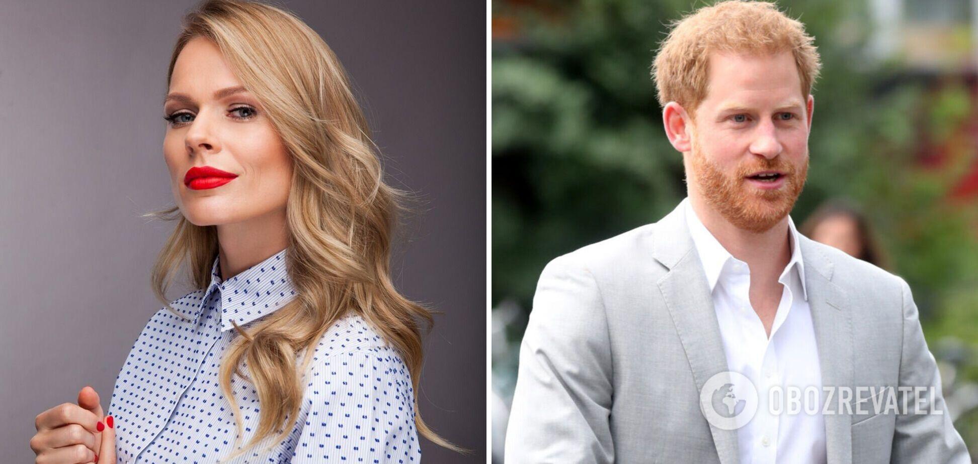 Фреймут розкритикувала вбрання принца Гаррі на інтерв'ю з Опрою: не за етикетом