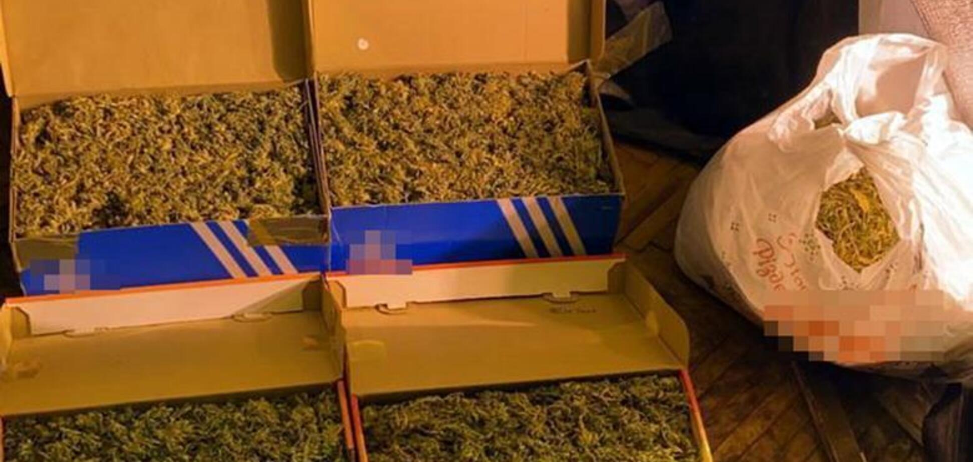 У киянки вилучили наркотики на1 мільйон гривень. Фото