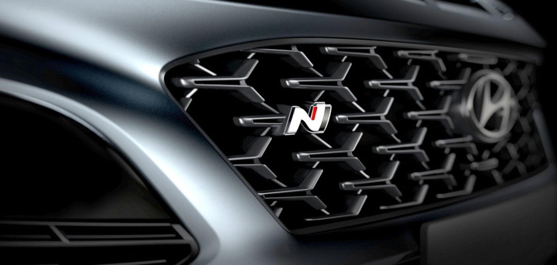 Hyundai показав 'заряджений' кросовер Kona N
