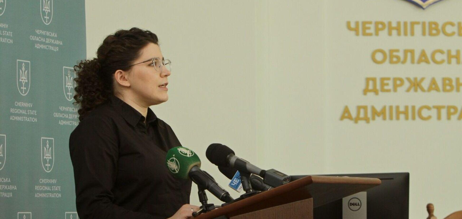 Анна Коваленко представила масштабные проекты Черниговщины 2021 года