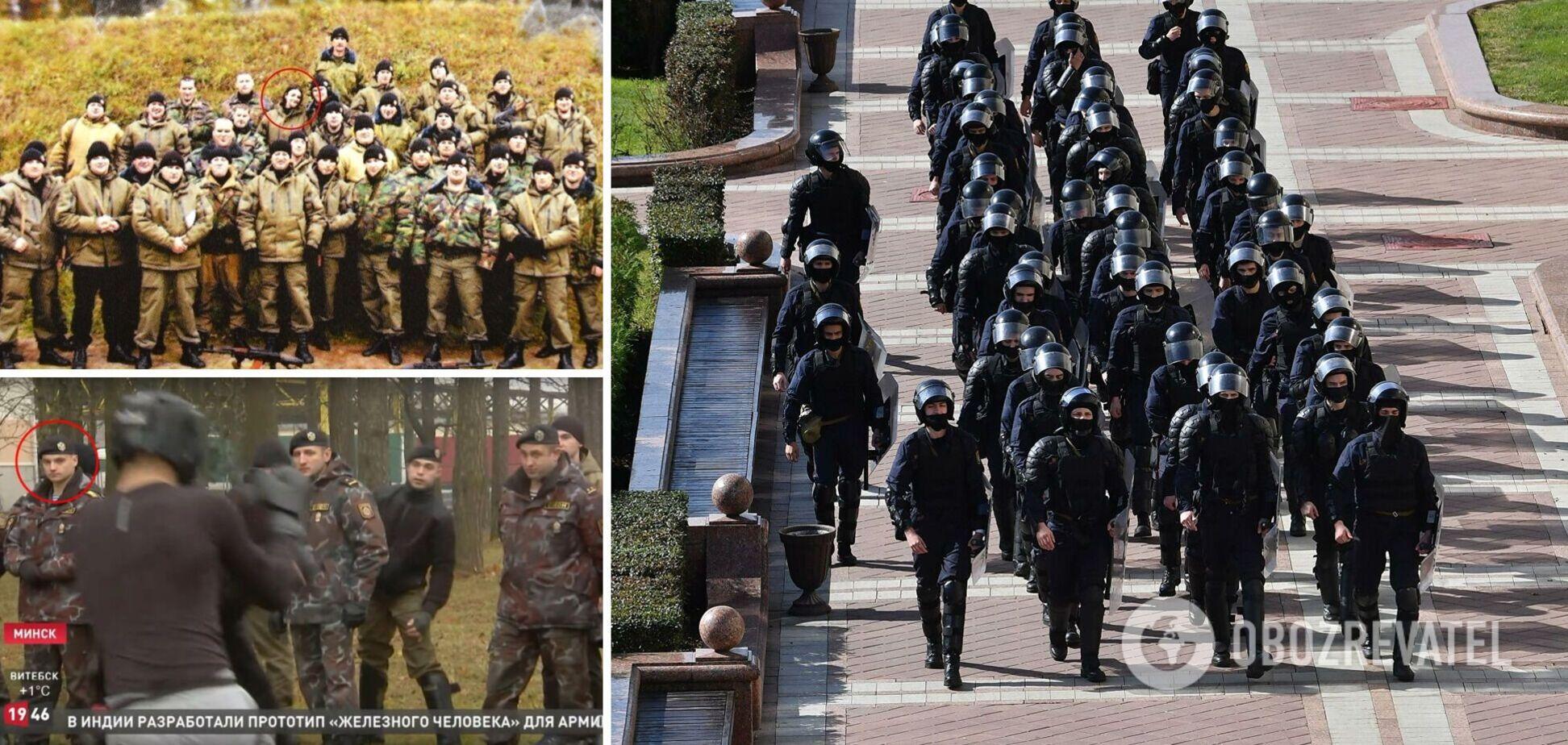Журналисты установили более десятка экс-бойцов украинского 'Беркута' в белорусской милиции. Фото и видео