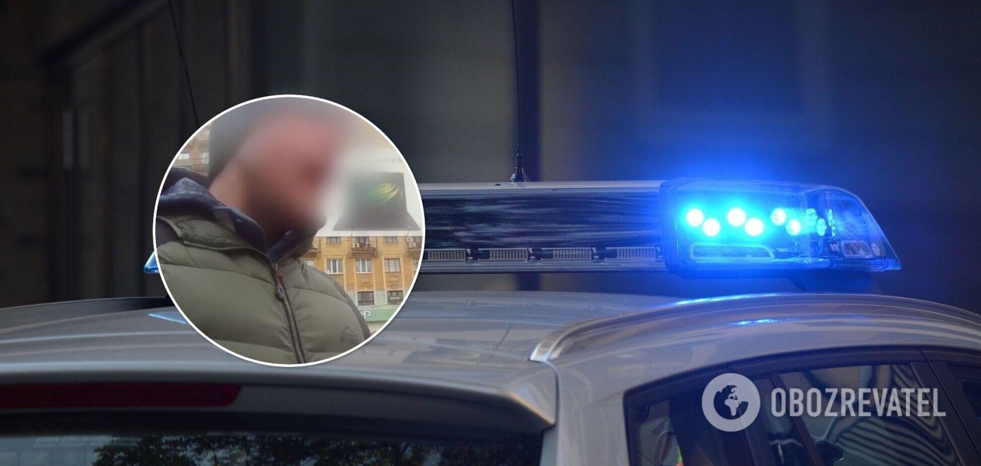 В Харькове задержали водителя, который угрожал патрульным