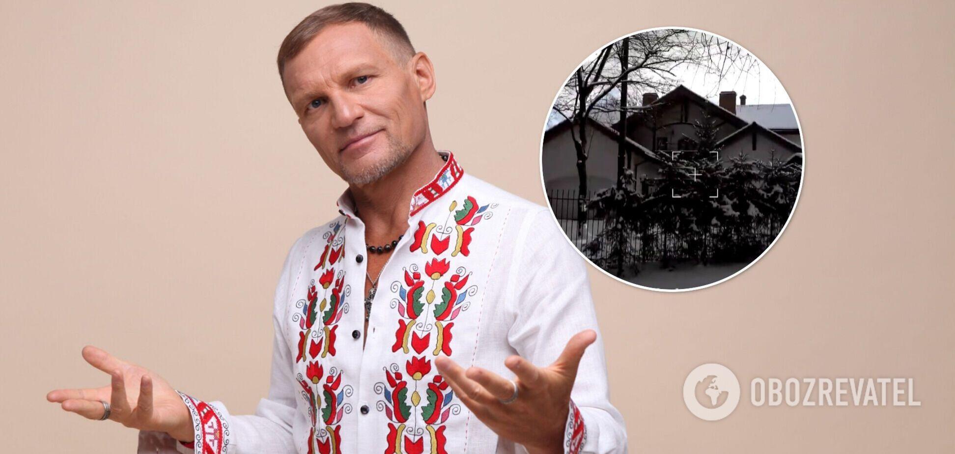 Як виглядають маєтки Олега Скрипки під Києвом: опубліковано фото та відео