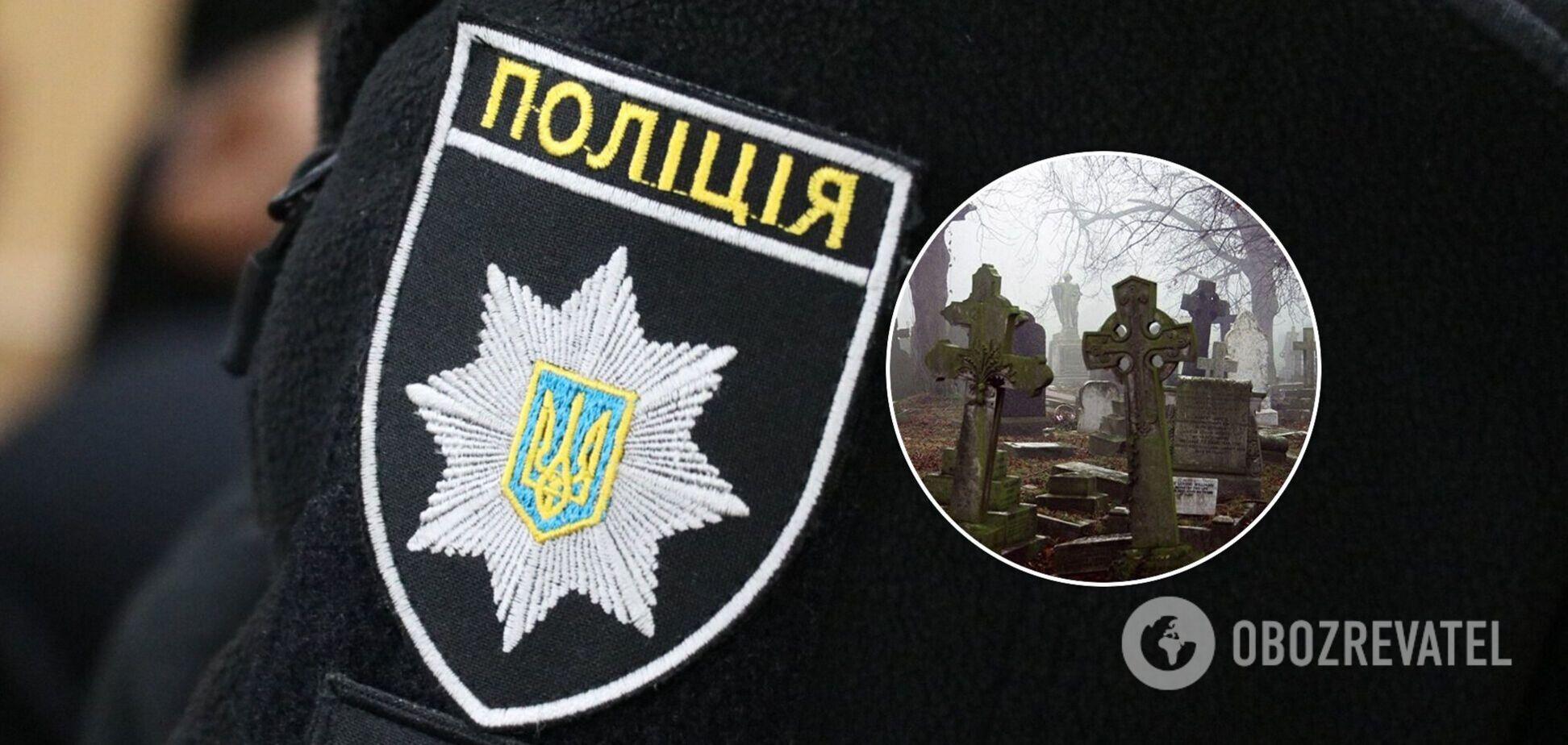 В Луцке вандалы сняли танцы на кладбище на видео