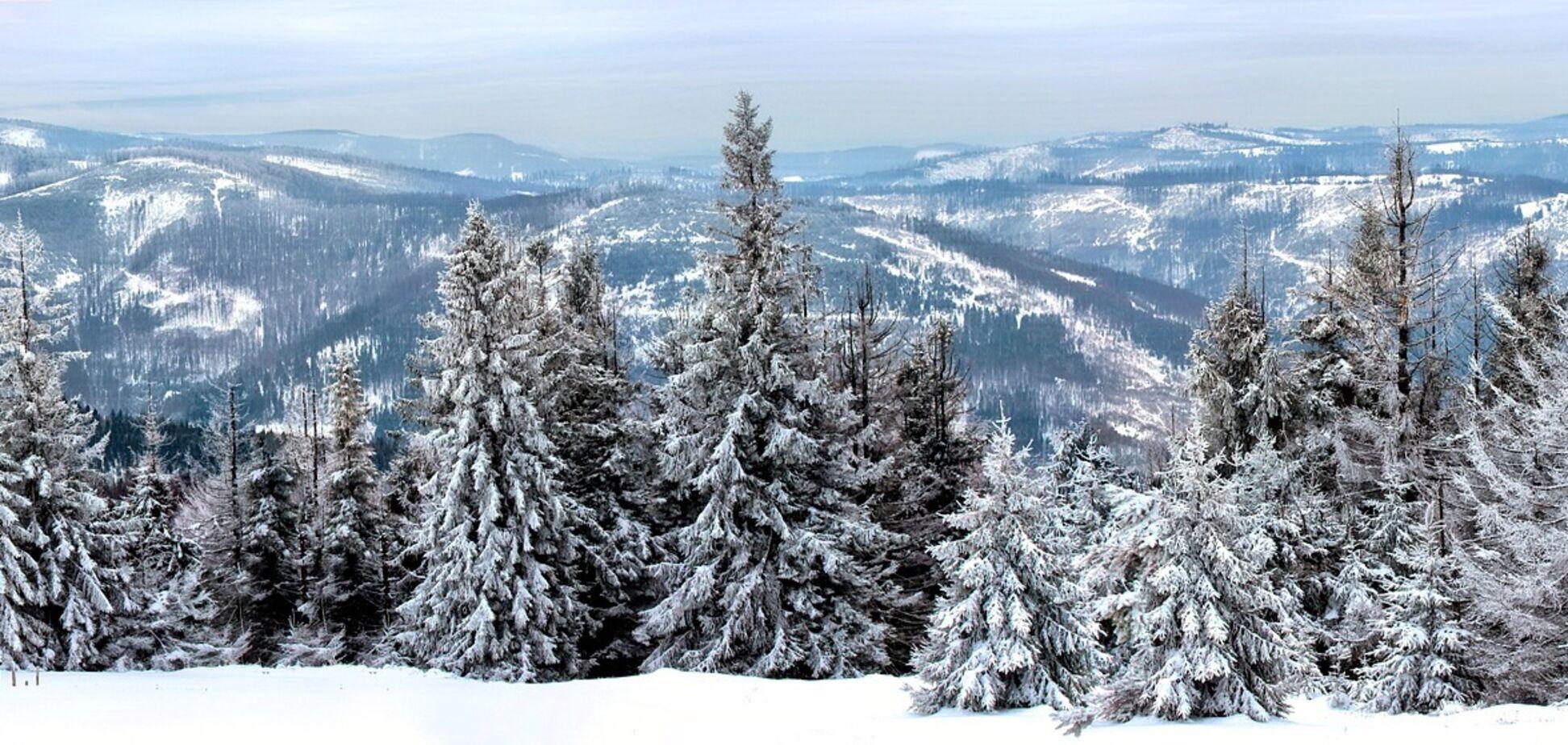 Зима у горах
