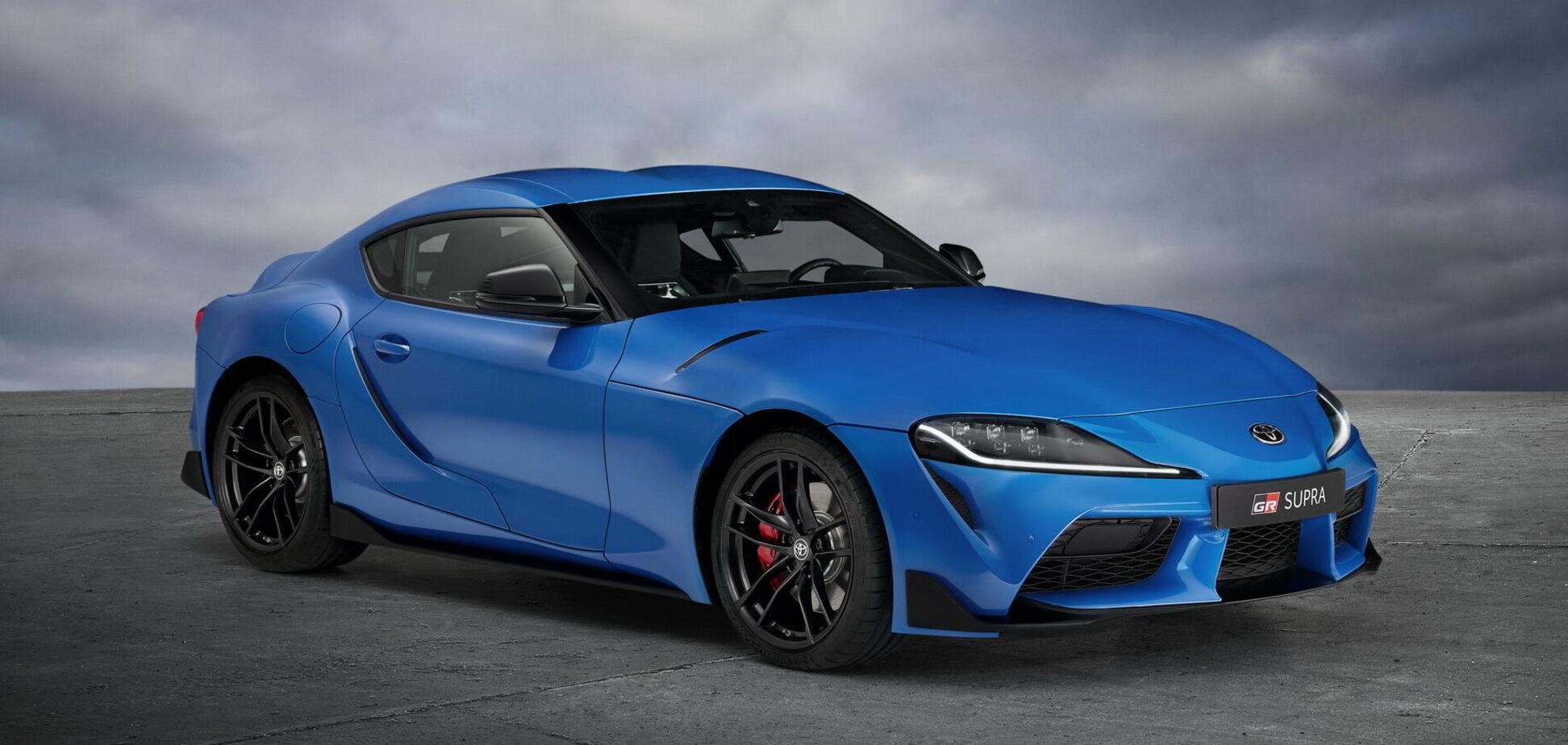 Toyota показала коллекционную версию спорткара Supra