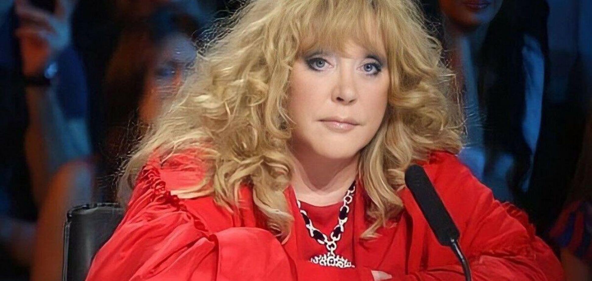 Юлія Проскурякова виклала фото Пугачової