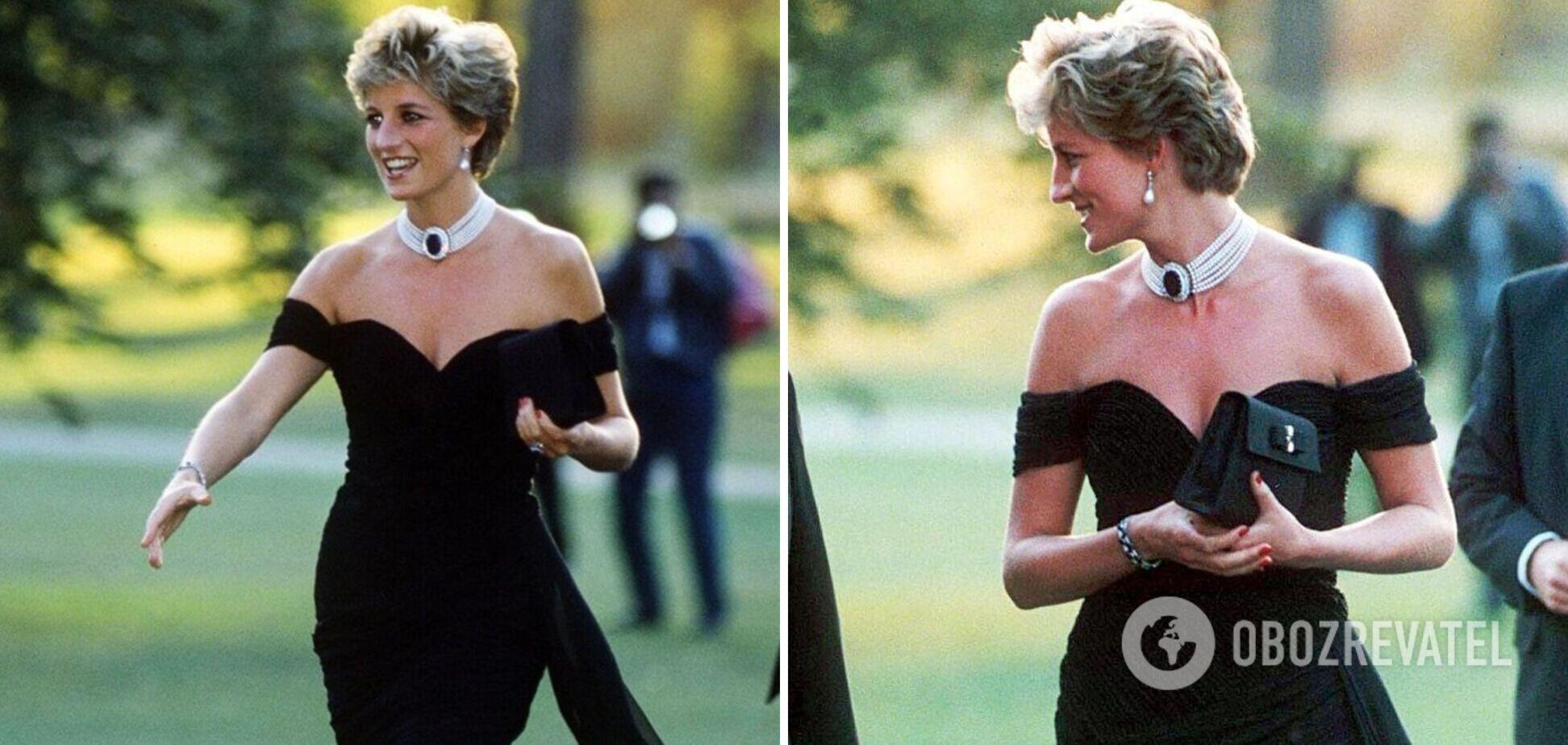 Раскрыта история легендарного 'платья мести' принцессы Дианы