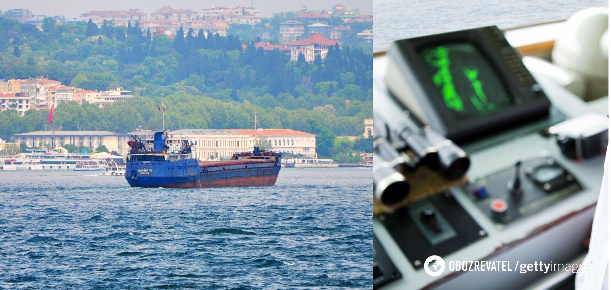 Судно з українцями затонуло у Чорному морі: двоє моряків загинули