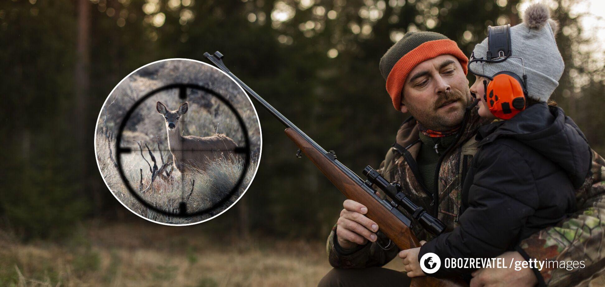 Українцям хочуть заборонити брати дітей на полювання: у чому суть законопроєкту і чому в ЄС стурбовані