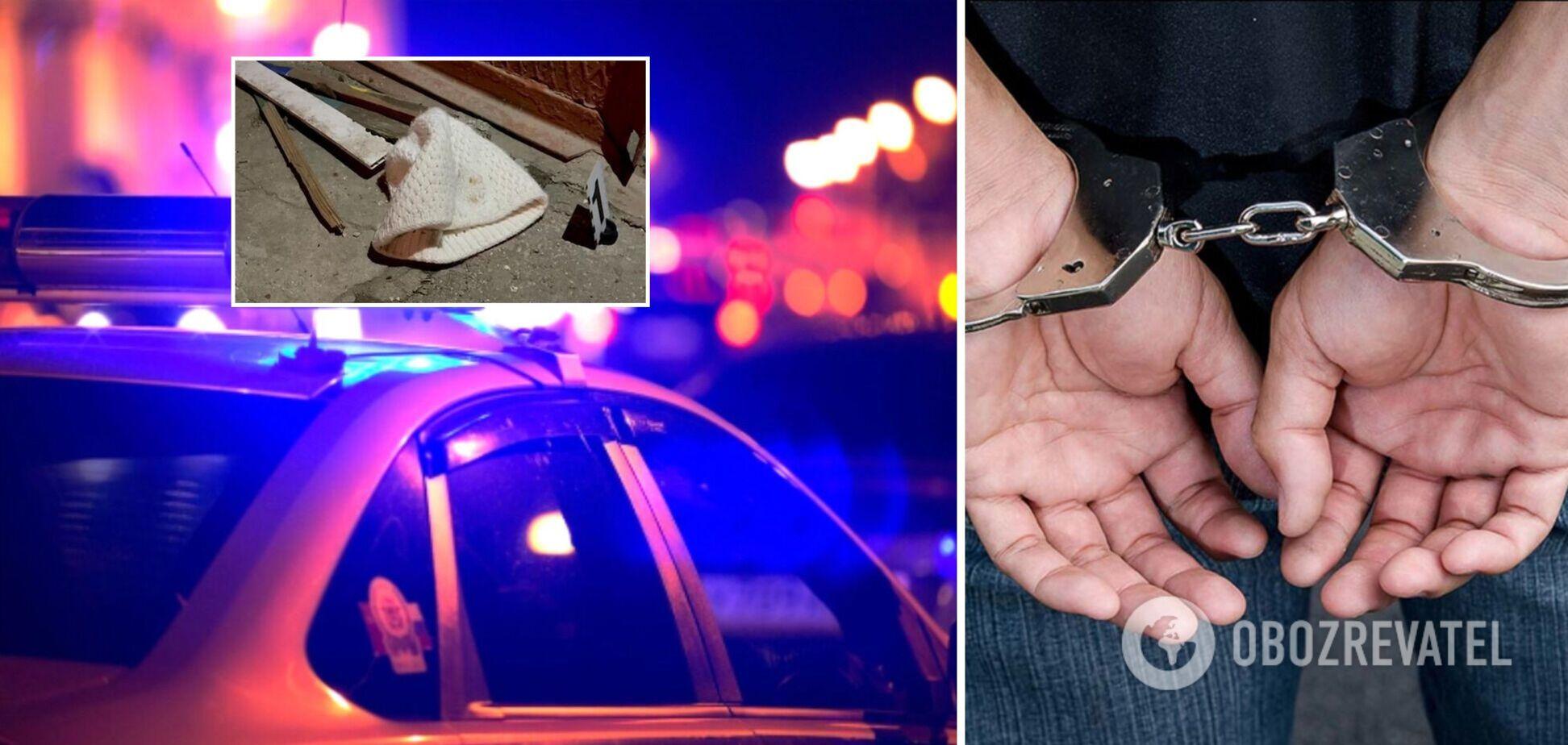На Одещині чоловік зарубав сокирою виховательку дитсадка і втік в іншу область. Фото і відео
