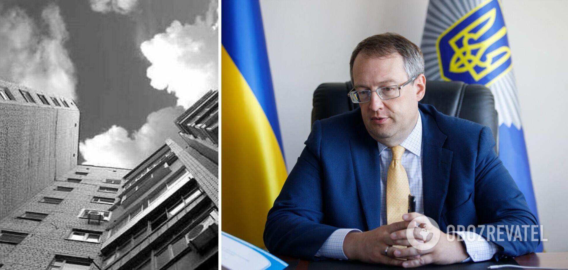 Геращенко розповів, що змусило 14-річну дівчинку вистрибнути з 18-го поверху у Києві
