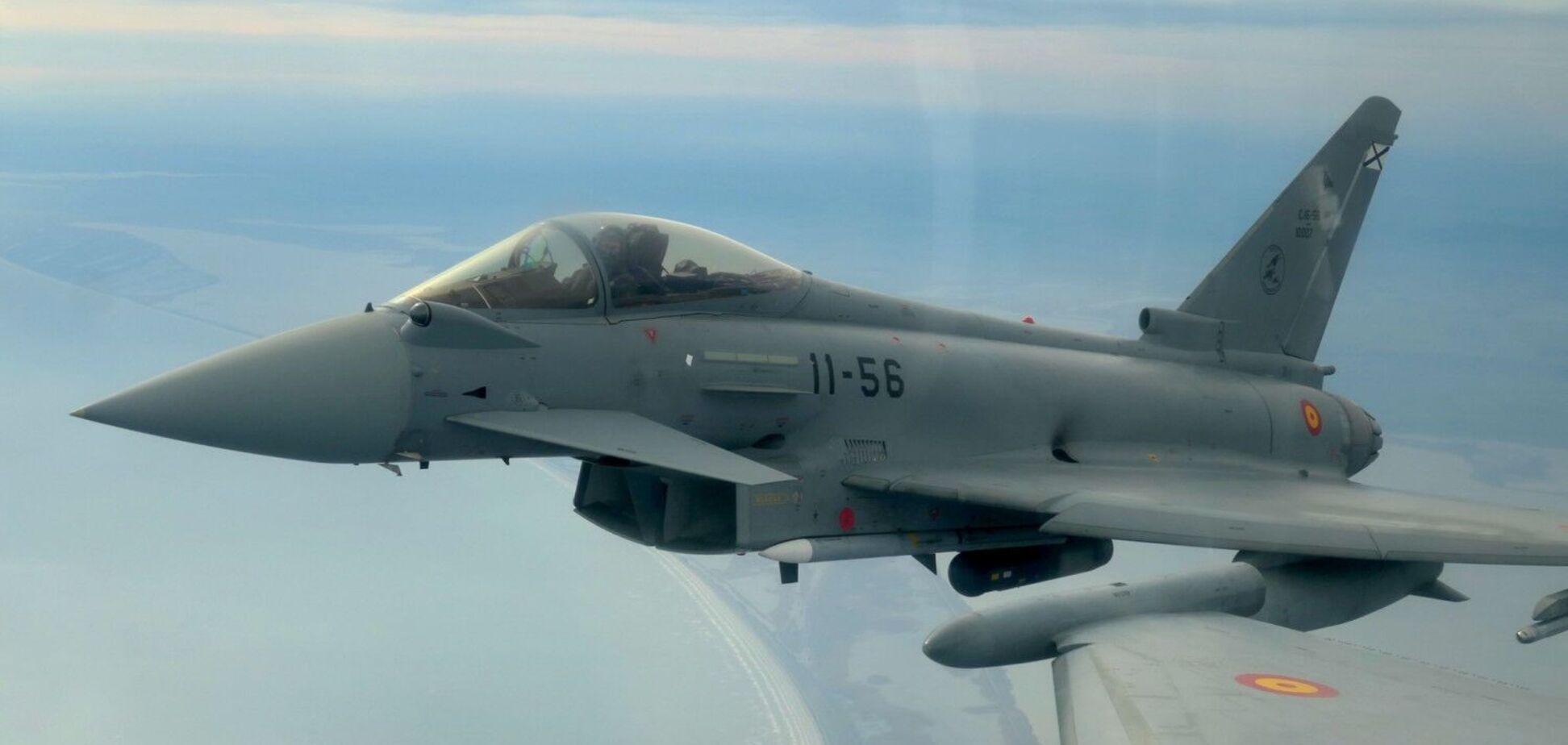 Полеты самолетов НАТО