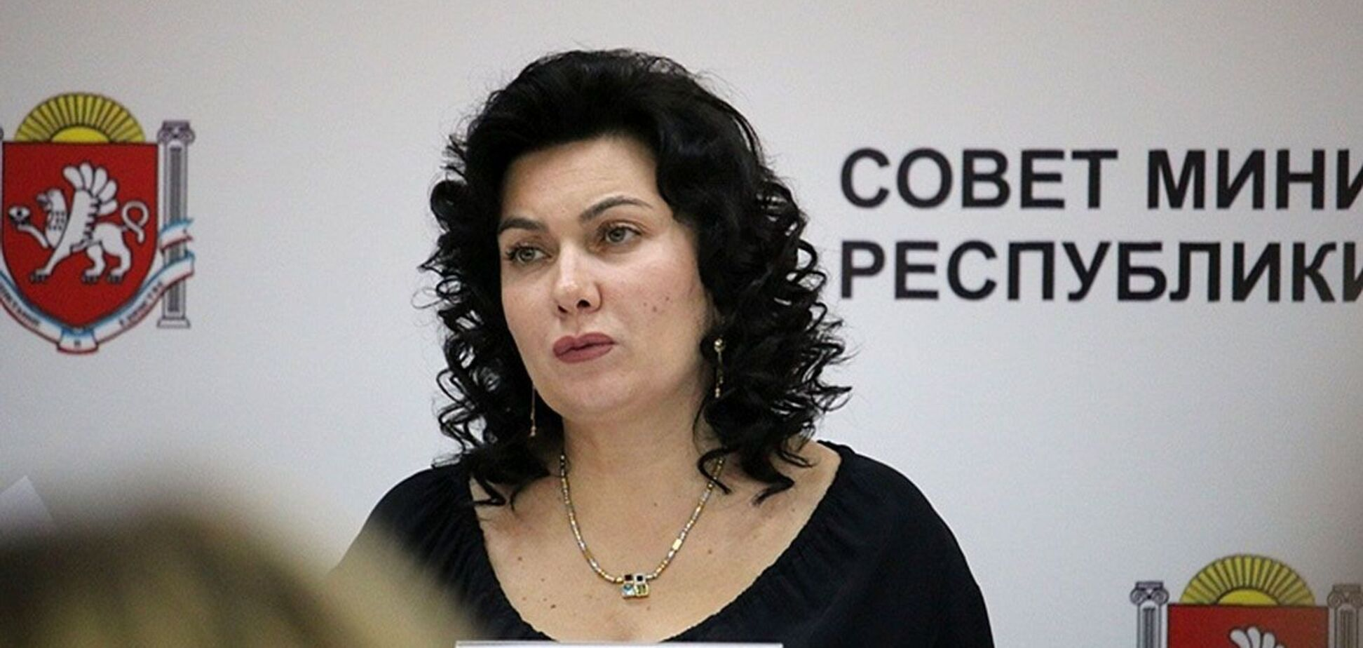 'Министр культуры Крыма' выругалась матом в прямом эфире. Курьезное видео 18+