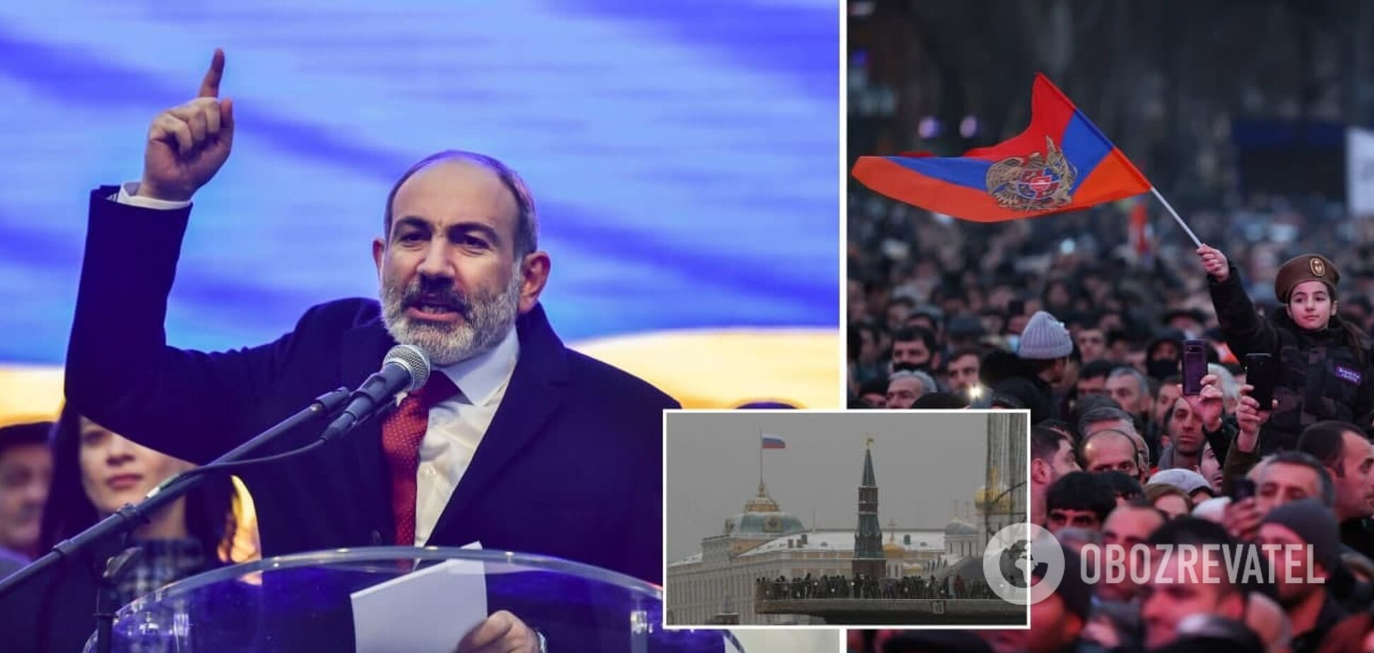Пашинян – заручник Кремля? Як поразка в Карабаху спровокувала кризу в Вірменії