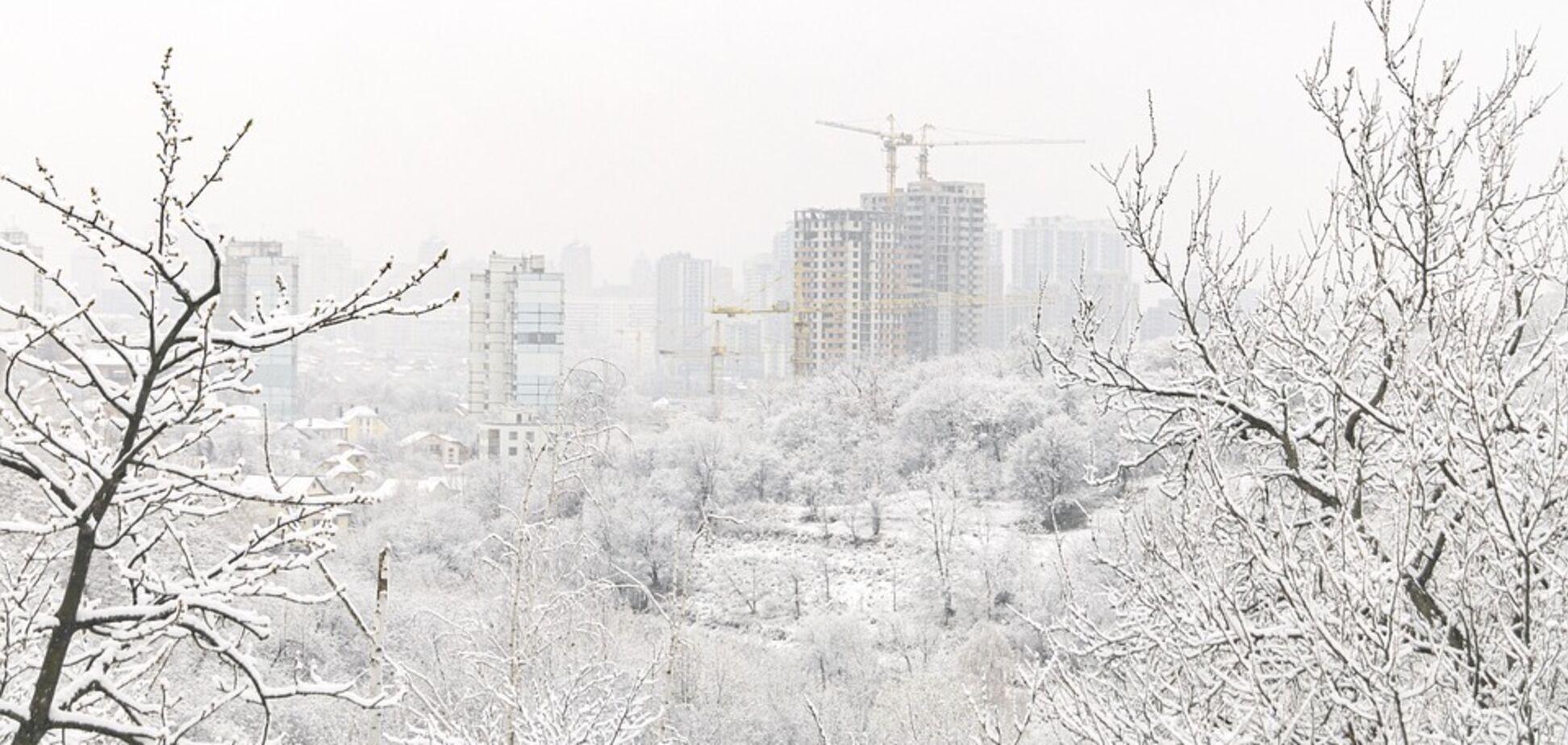 Київ накриють снігопади та сильний вітер