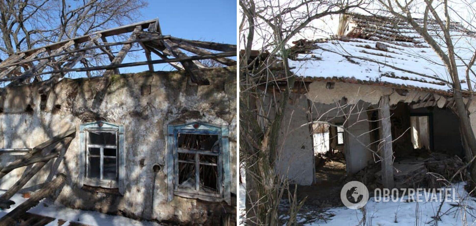 Жители покинули село