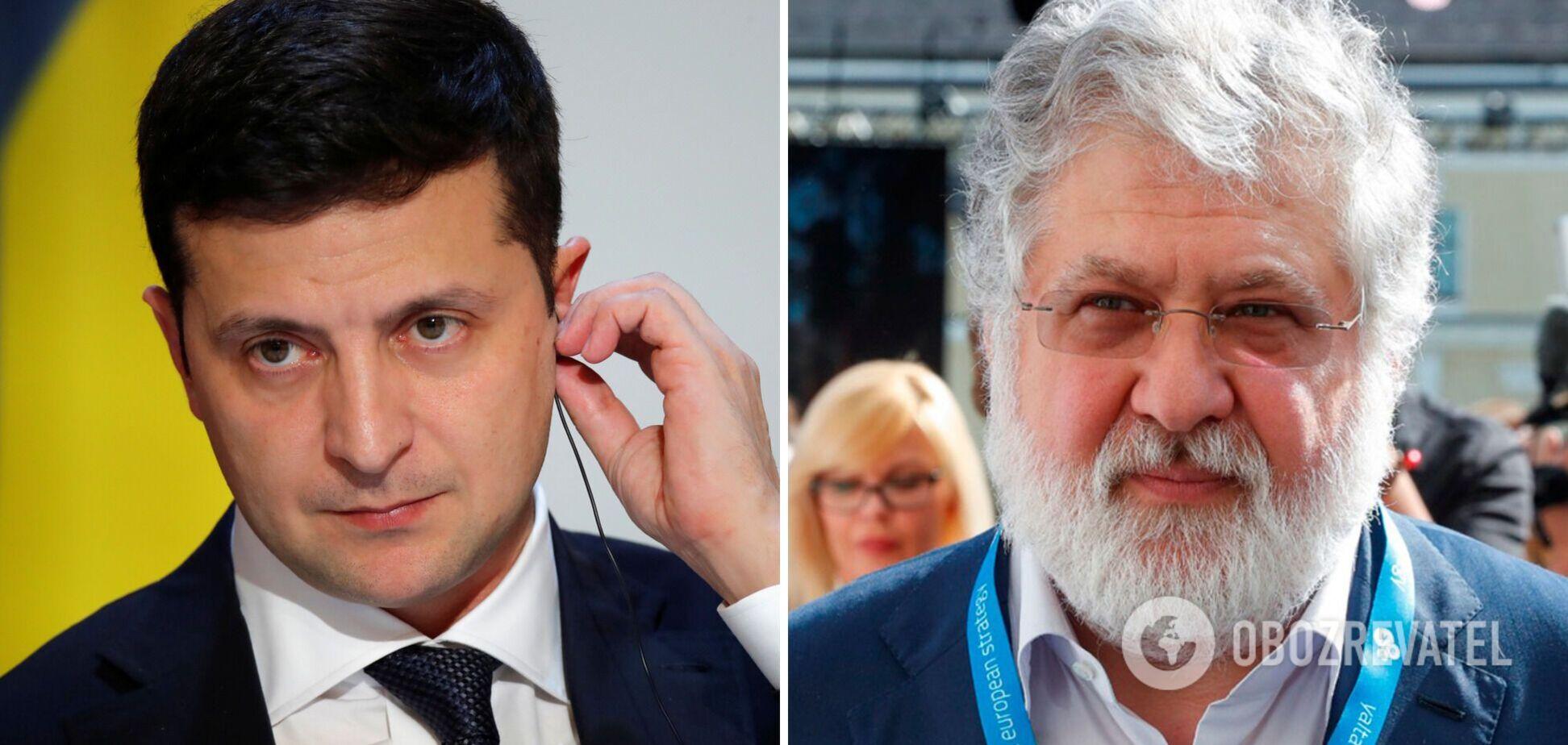 Украина поддерживает санкции США против Коломойского, – Зеленский