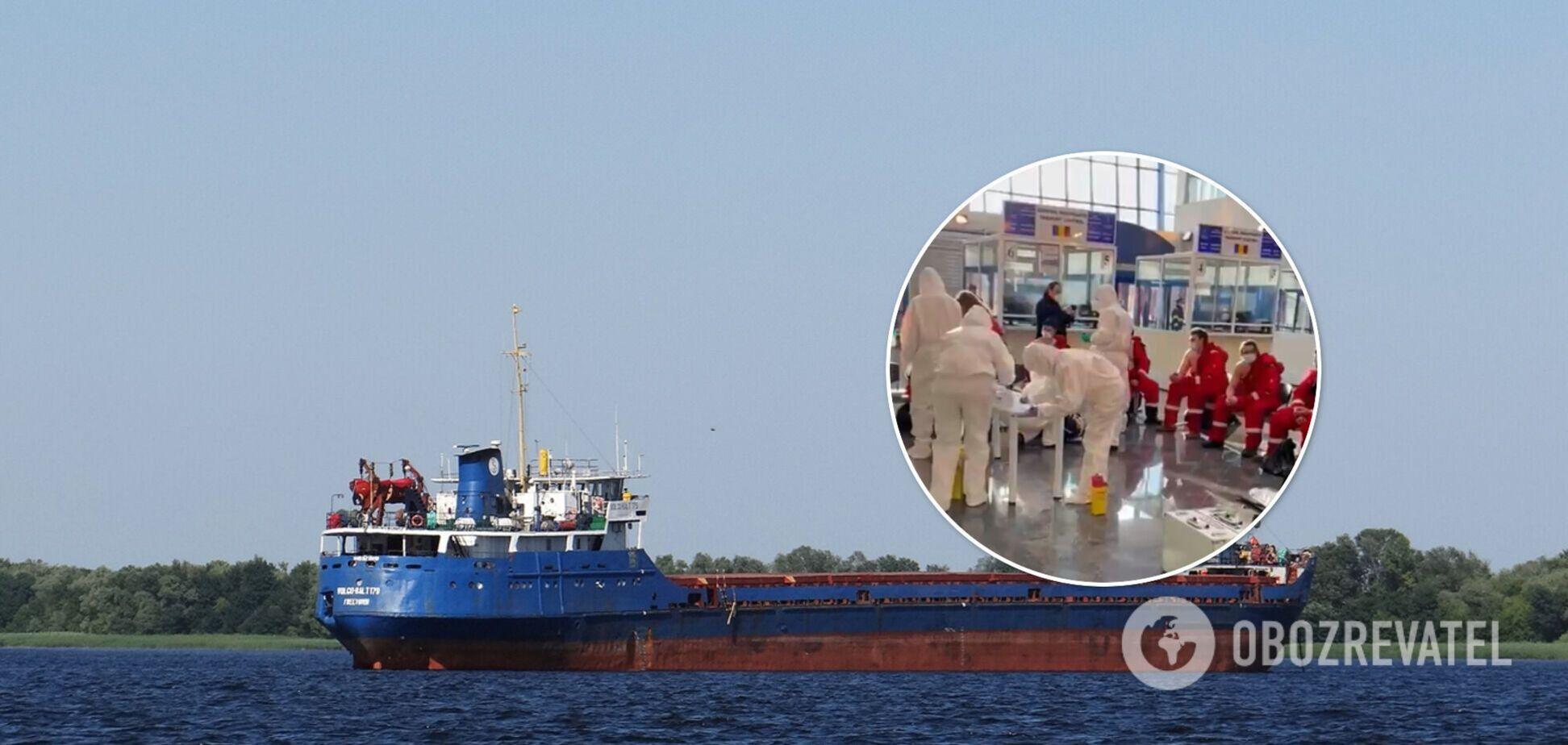 У МЗС розповіли про стан моряків із затонулого в Чорному морі судна