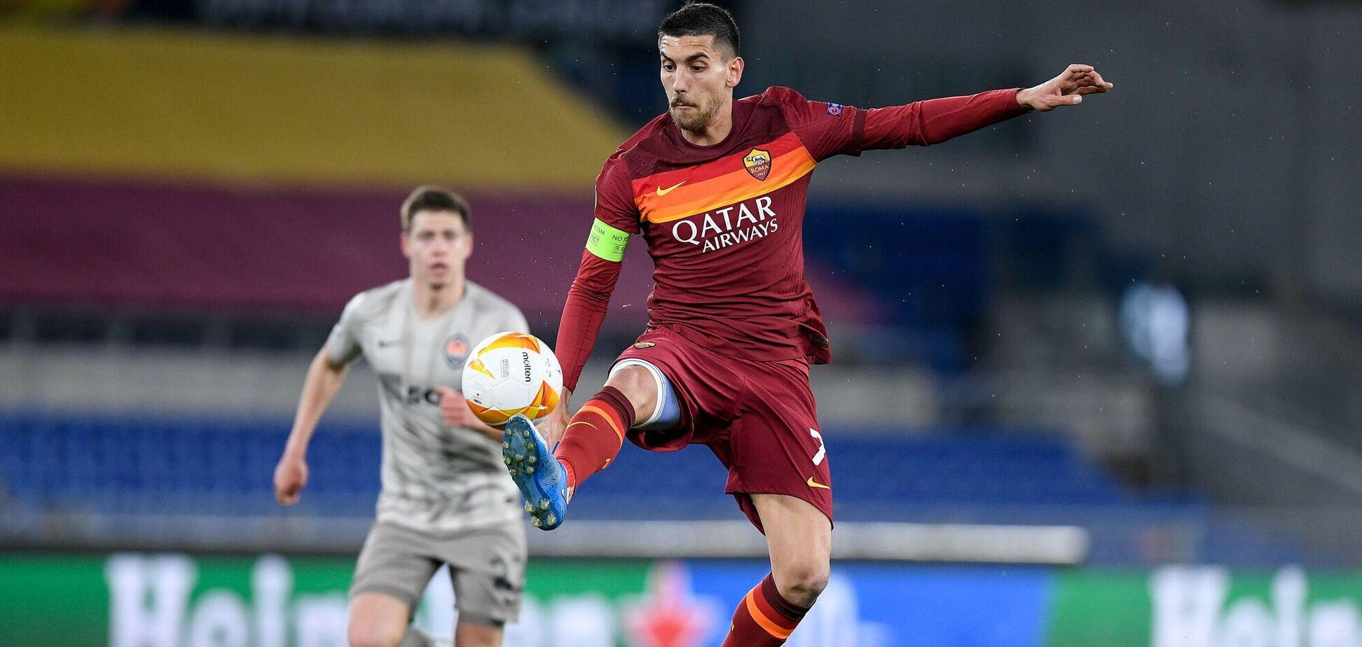 'Рома' – 'Шахтар': відеоогляд матчу плей-оф Ліги Європи