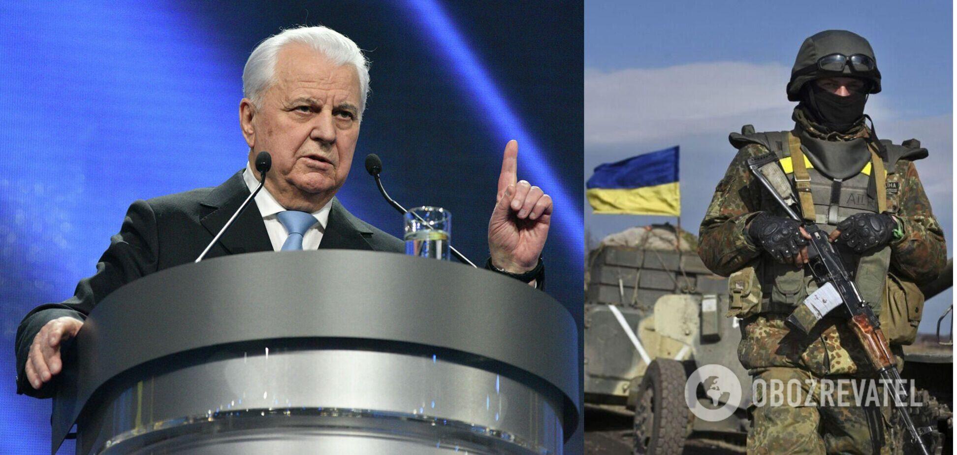 Кравчук на заседании ТКГ пригрозил отвечать противнику силой за огонь по ВСУ