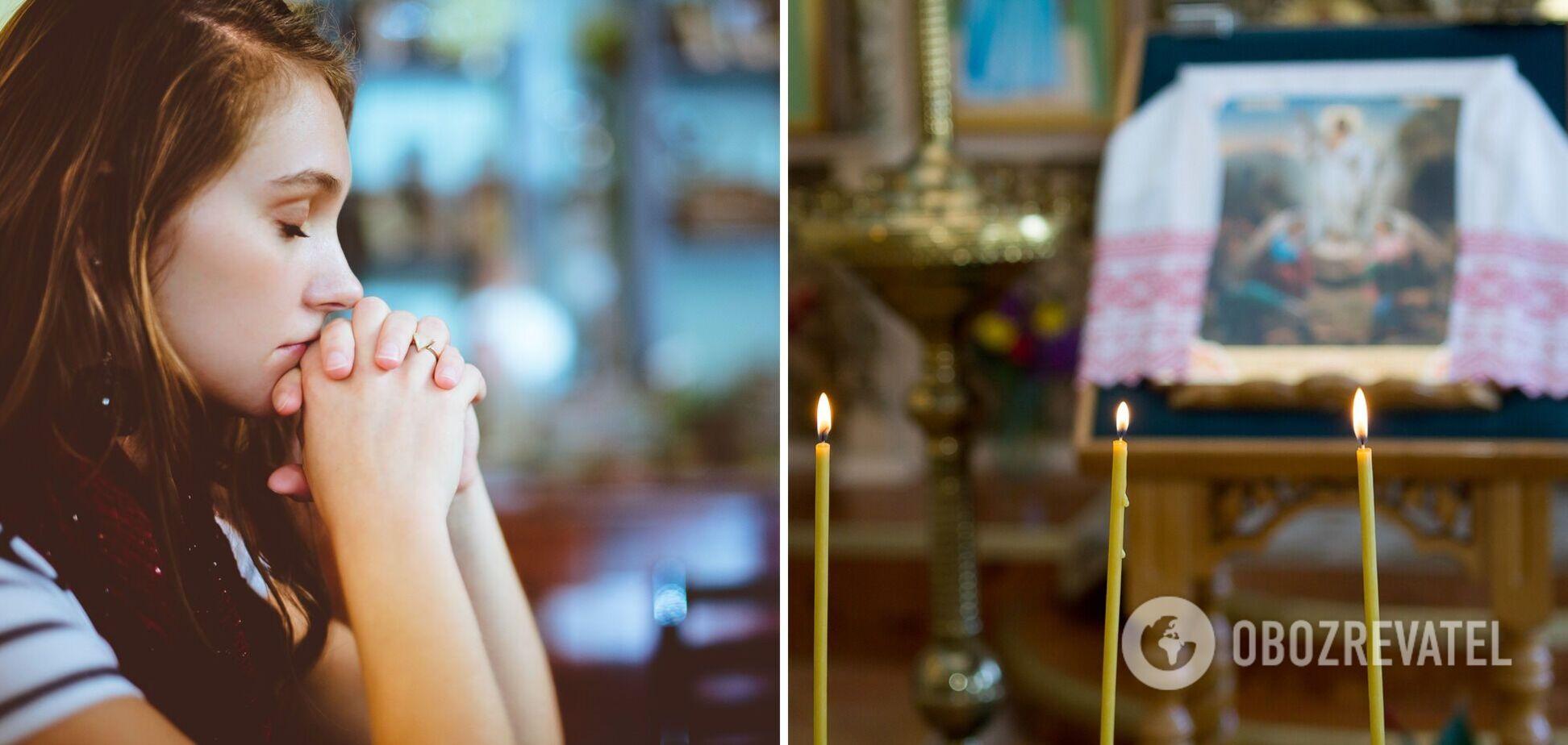 Підносити молитви необхідно щиро, з вірою і чистими помислами