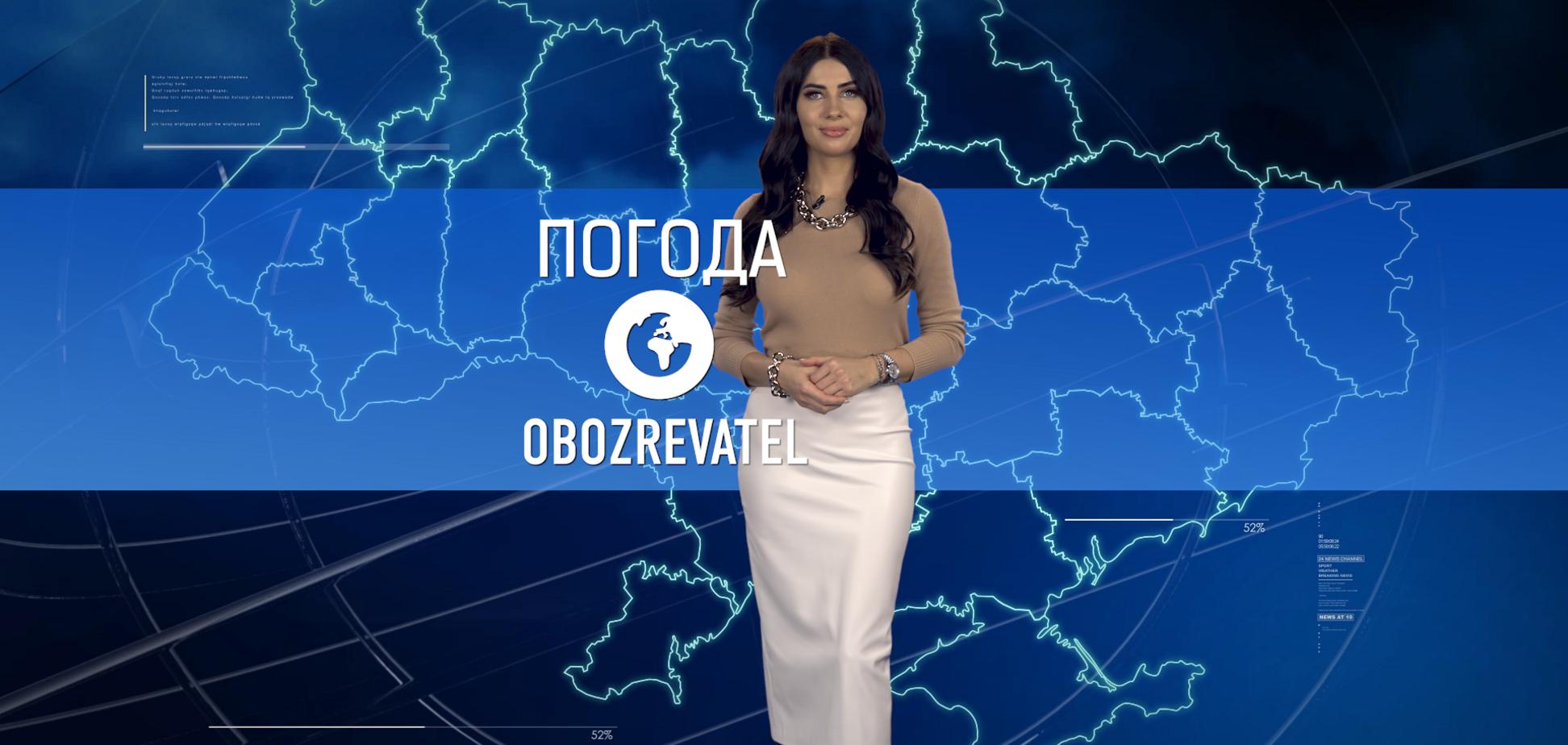 Прогноз погоди в Україні на неділю 14 березня з Алісою Мярковською