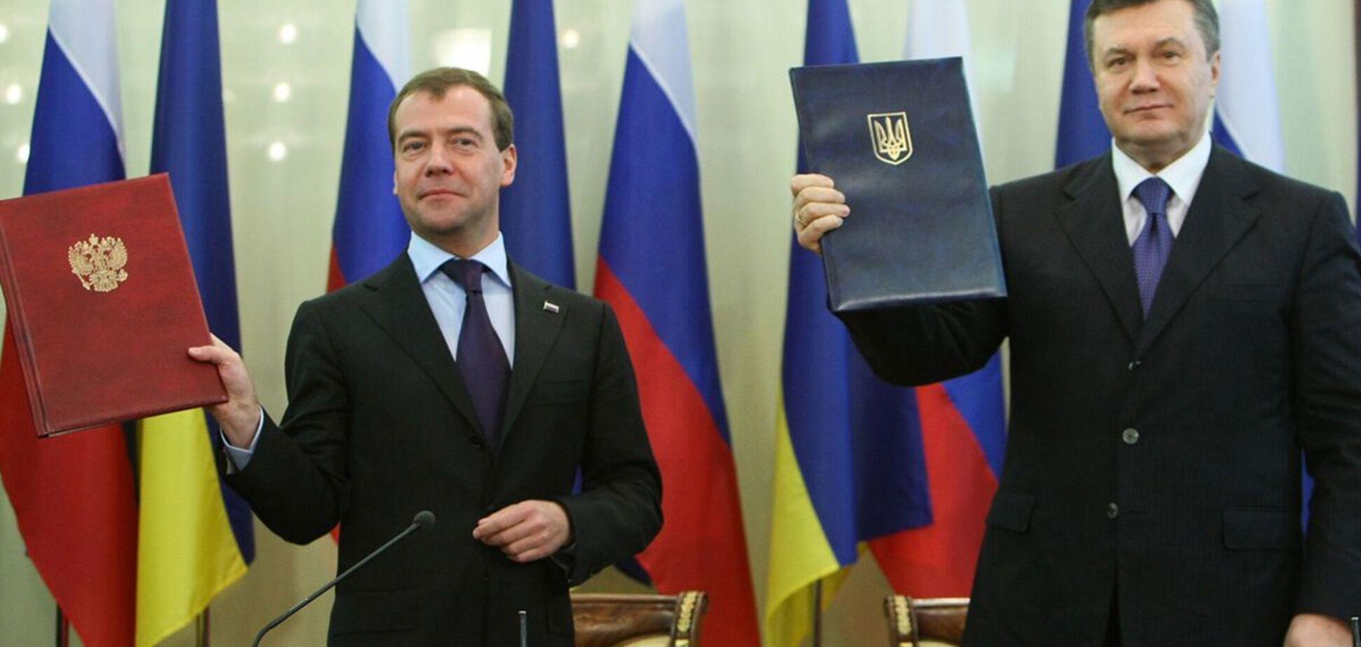 О предателях Украины, или Уроки 'Харьковских соглашений-2010'