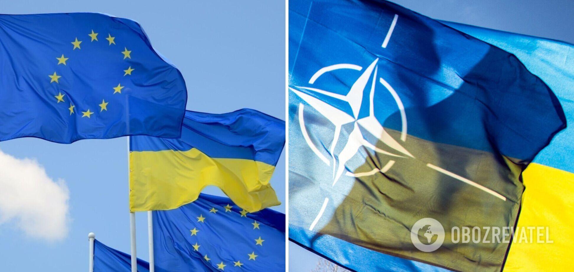 Прагнення України в ЄС і НАТО