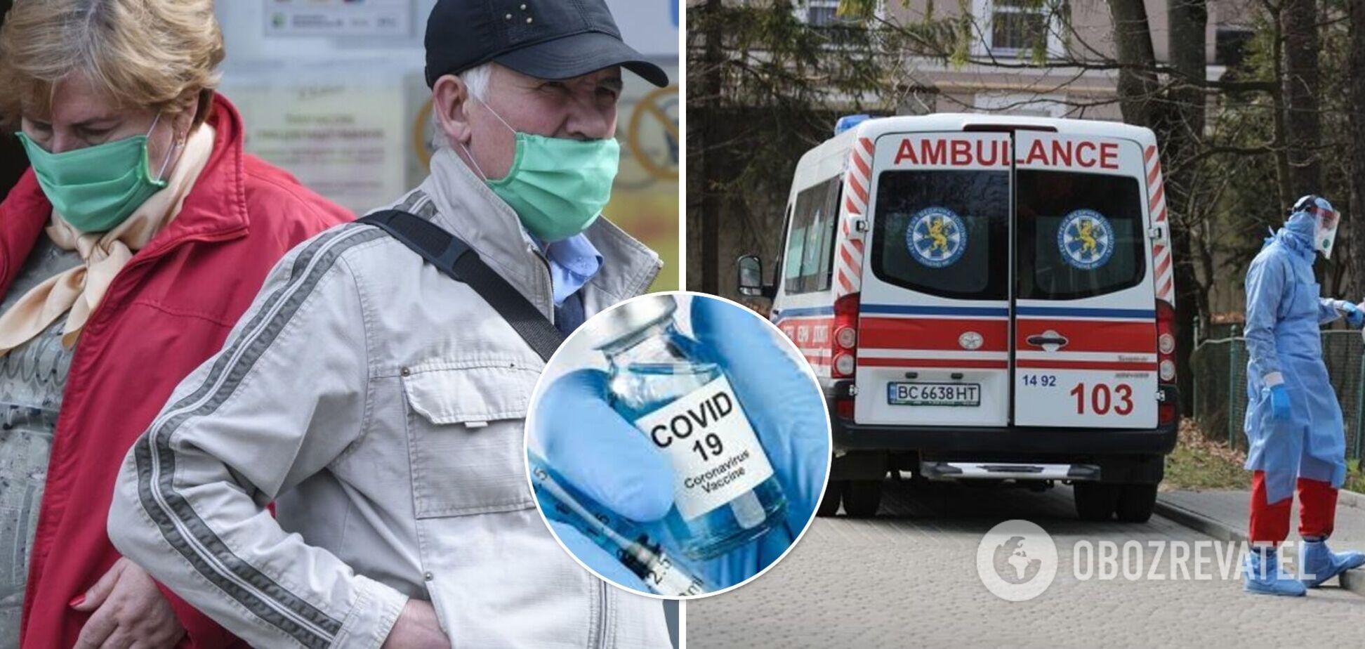 Коронавирусом в Украине заболели более 9 тыс. за сутки, умерли 145 человек
