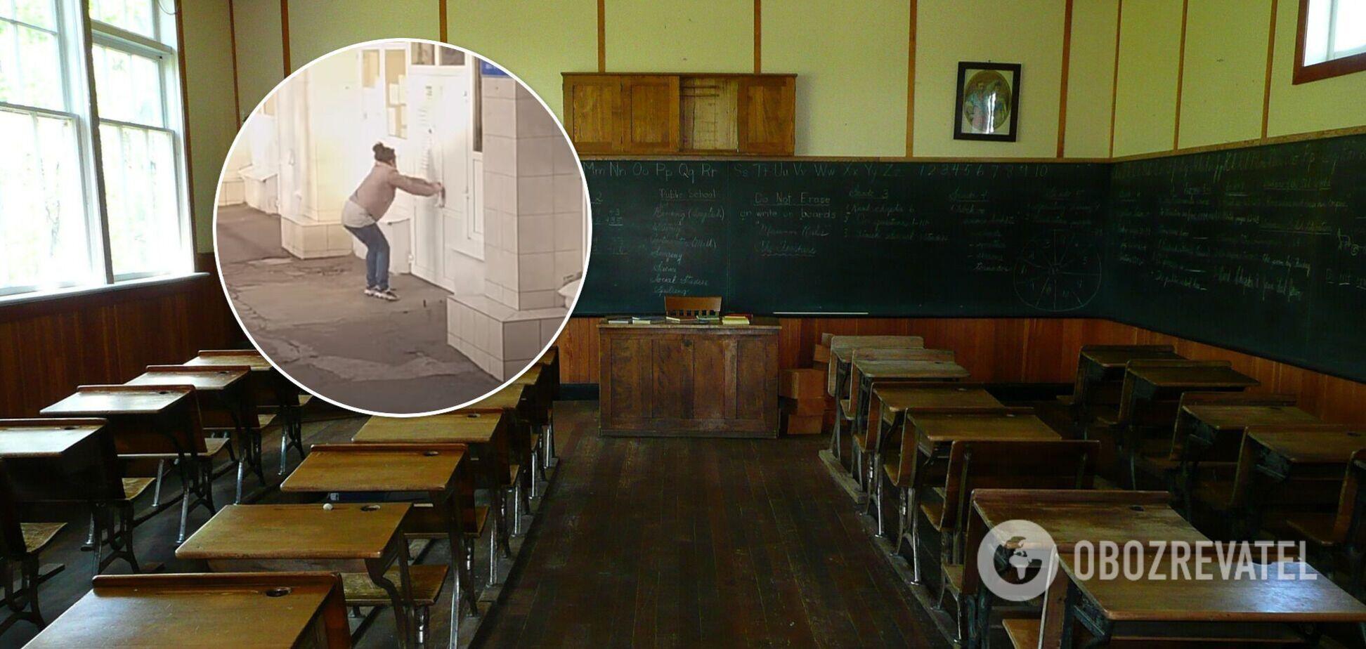 Скандал в школе Мариуполя
