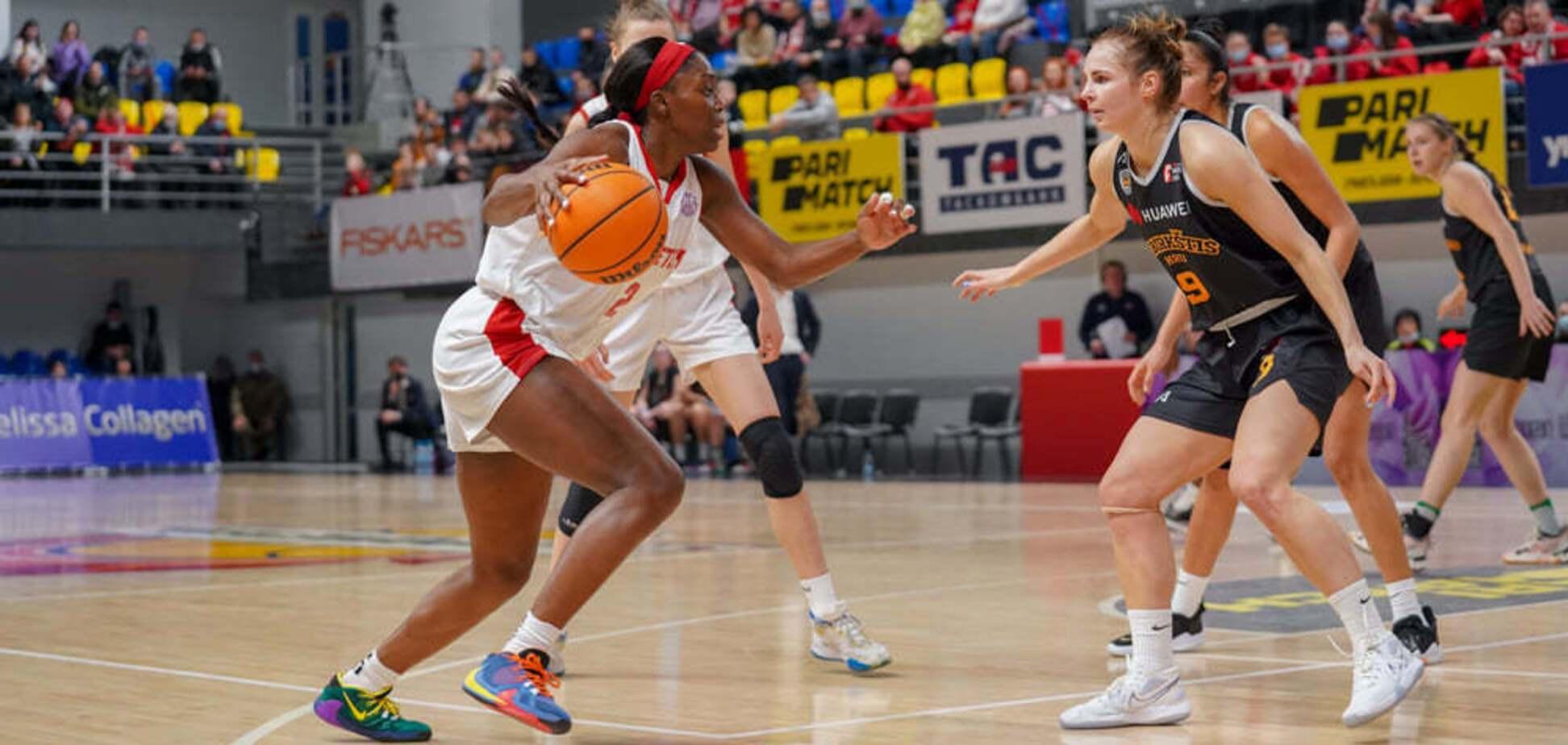 'Прометей' с победы стартовал в 1/4 финала Европейской женской баскетбольной лиги